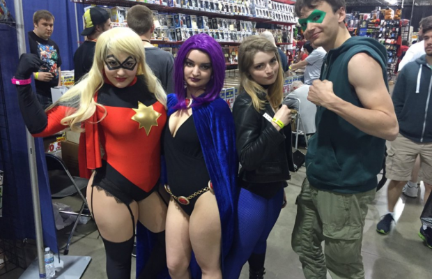 Motor City Comic Con 2016 Days 1 and 2