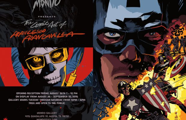 Mondo Gallery Presents: The Comic Art of Francesco Francavilla