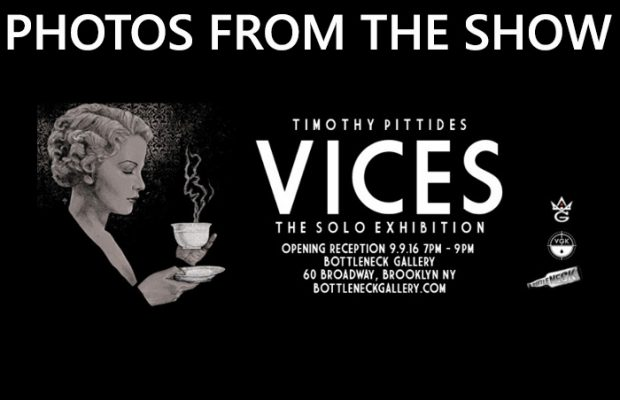 VICES photos | Bottleneck Gallery | Grey Matter Art | Timothy Pittides