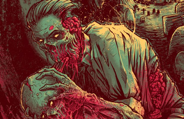 Grey Matter Art Presents Night of the Living Dead by Godmachine