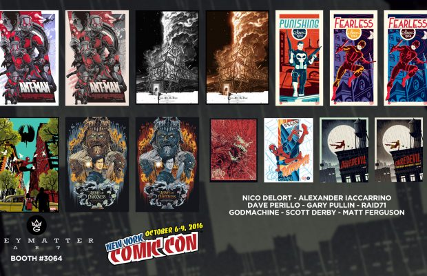 Grey Matter Art at New York Comic Con!