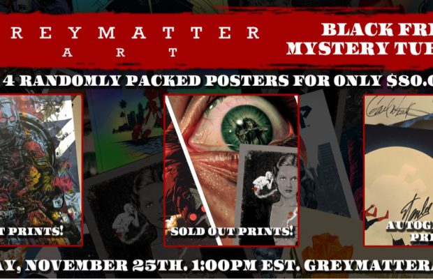 Grey Matter Art 2nd Annual Mystery Tube Sale!