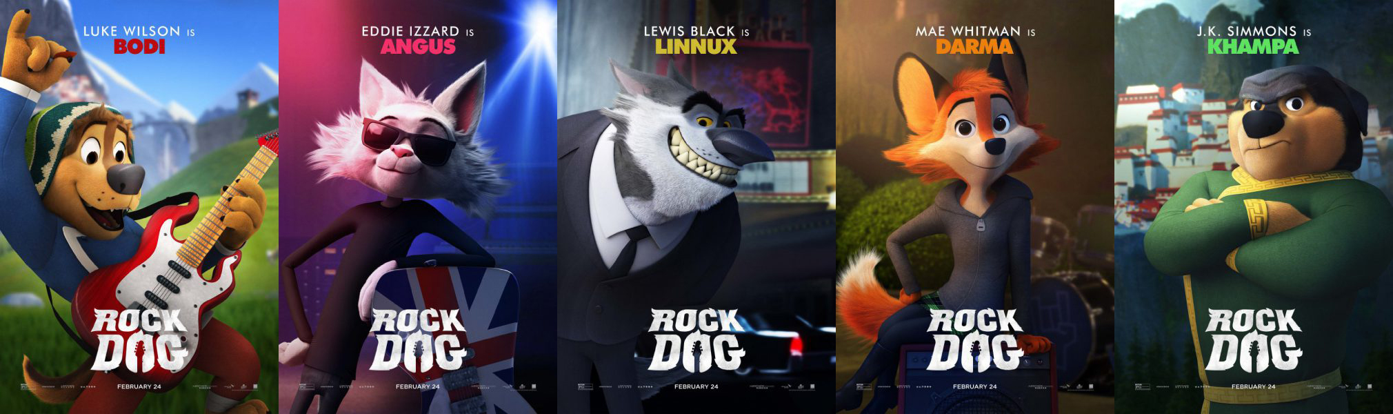 Movie Review Rock Dog