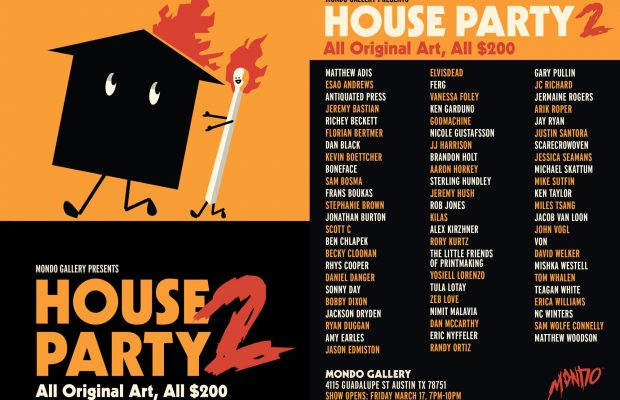 Mondo Gallery Presents House Party 2