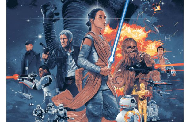 STAR WARS: THE FORCE AWAKENS by Gabz