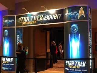 On The Ground At The Star Trek Convention!