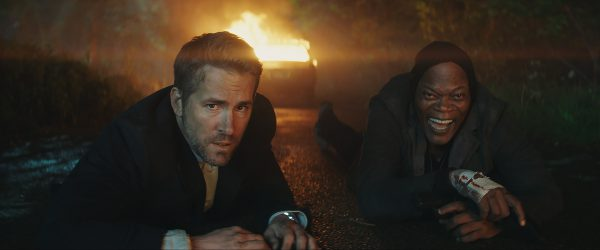 Ryan Reynolds and Samuel L. Jackson star in The Hitman's Bodyguard