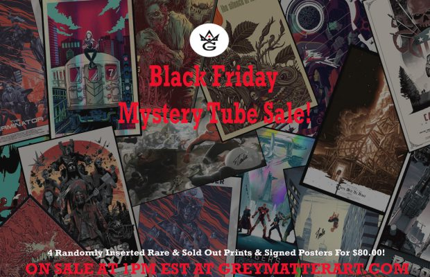 Grey Matter Art Mystery Tube Sale!