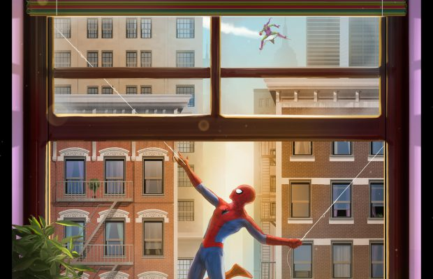 Grey Matter Art Presents Spider-Man by Andy Fairhurst