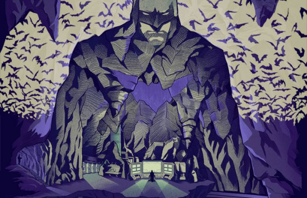 Dark Ink Presents Batman and Wonder Woman Prints