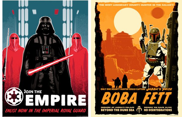 Dark Ink Presents Imperial Power and Jabba's Prize by Brian Miller