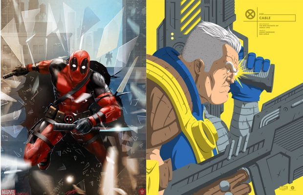 Grey Matter Art Presents Cable and Deadpool!