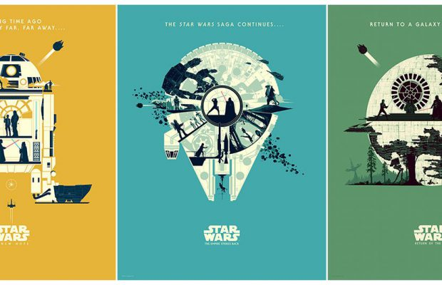Dark Ink Art & Bottleneck Gallery Present Star Wars by Matt Ferguson!