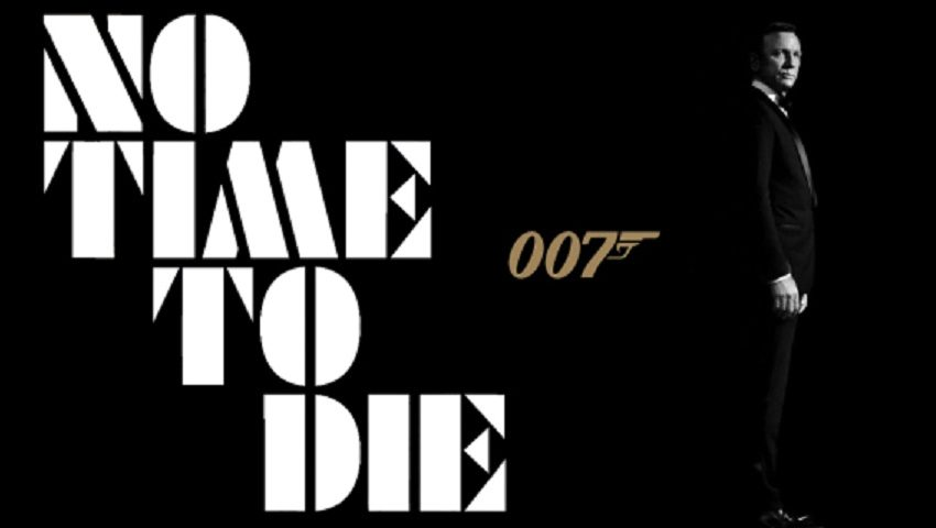 BOND is Back! Check out the new trailer for NO TIME TO DIE